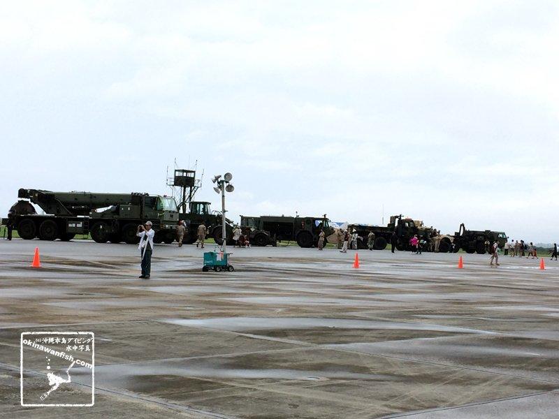 """""""普天間基地フェスティバル2015 米軍特殊車両"""